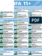 PROGRAMA DE PREVENCION DE LESIONES FIFA 11+ DEL F-MARC BREVE PRESENTACION Y RESUMEN DESCRIPTIVO