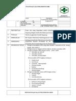 8.1.2.8 SOP Penggunaan Alat Pelindung Diri