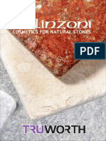 Bellinzoni Stone Care Products - Truworth Homes