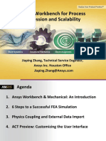 Ansys Workbench for Process Compression and Scalability
