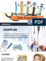 Medical Tools and Function