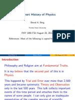 History Phys
