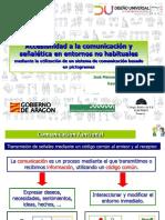 Accesibilidad a la comunicación y señalética en entornos no habituales