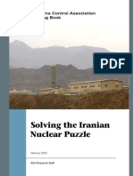Solving the Iranian Nuclear Puzzle (ACA 2013)