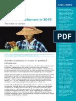 Women and Politics 2015 Analysis