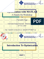 Optimization Presentation 2015