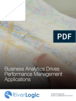 Prescriptive Analytics Drives Performance Management Applications