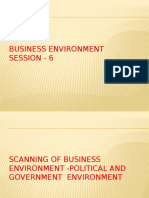 Political and Government Environment in Business Environment