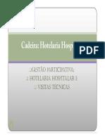 Hotelaria H. Slides 1