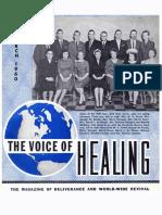 VOICE OF HEALING MAGAZINE