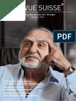 Revue Des Suisses de l'Étranger-Octobre 2014