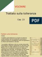 Trattato Sulla Tolleranza, Cap 23