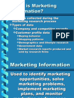 Marketing Information