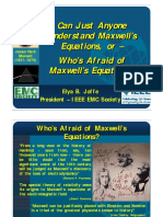 CEAAE - Who is Afraid of Maxwells Equations