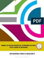 Manual de Revitalización Del Patrimonio Cultural Costa Caribe de Nicaragua