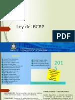 Trabajo - Ley BCRP