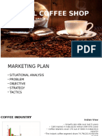 Coffee marketing plan