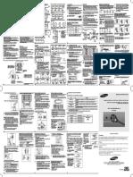 Manual de Instalação ar condiciona split Samsung