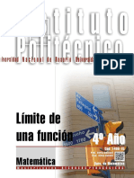 1406-15 MATEMATICA Límite de Una Función (1)
