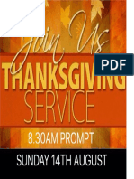Thanksgiving Service 01