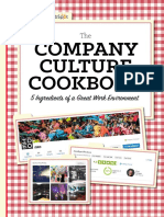 The Company Culture Cookbook