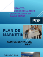 Plan de Marketing via Dent