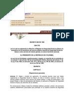 Decreto 806 de Abril 30 de 1998