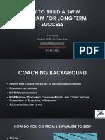 Long Term Development in Swimming (US-presentation)