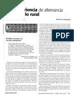 Una experiencia de alternacia en el medio rural / María José Ameijeiras