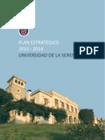 Plan Estrategico de Desarrollo Uls 2010 2014
