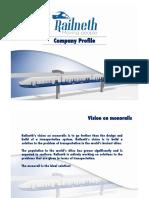 Company Profile Railneth 13 August 15