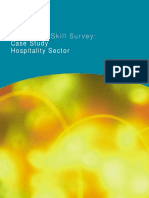 Employers Skill Survey - Case Study - Hospitality Sector