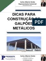 Dicas para Construção de Galpões Metálicos