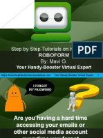 Step By Step Tutorials on How to Use Roboform