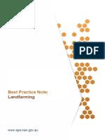 Best Practice Note Landfarming