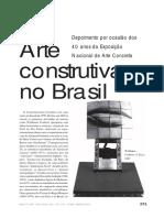 Haroldo de CAMPOS • Arte Construtiva No Brasil