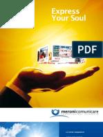 Meroni comunicare - brochure 2010