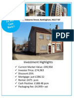 Cost to Own - Nil..! Investment Brochure
