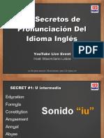 10 secretos de pronunciación del idioma inglés