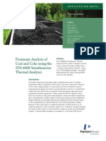 APP Proximate Analysis Coal Coke
