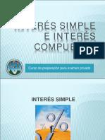 Interes y Descuento Simple e Interes Compuesto 2015 Lic Jorge Letran Aug 29 1