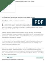 entrevista Sustersic Los guaraníes tenían un arte propio, no copiaban_ - 29.11