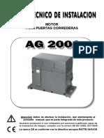 AG2000-SP