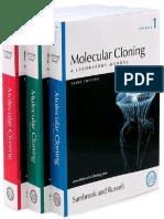 Molecular Cloning - Sambrook Russel - Vol. 1, 2, 3
