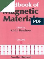 Handbook of Magnetic Materials, Volume 12