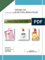 97998537 Market Research Project on Liquid Handwash
