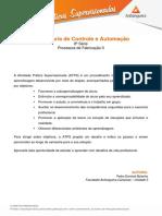 ATPS 2015 1 Eng Controle Automacao 8 Processos de Fabricacao II[1]