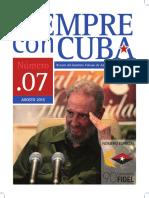 Nº7 Siempre con Cuba (Ago. 2016)