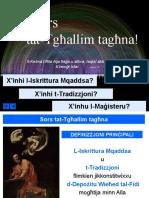 2b - Extra Skrittura u Tradizzjoni