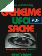 Geheime UFO-Sache - Schach Der Erde - Bernd Von Wittenburg(1997)